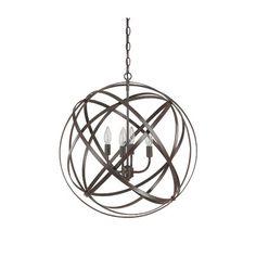 Gaia 4 Light Globe Pendant & Reviews | AllModern
