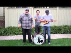 "I love Sidewalk Prophets.  Here they cover Taylor Swift's ""Mean"" :)"