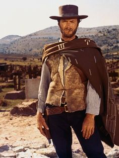 "Clint Eastwood, ""The Good, The Bad and The Ugly"" (1966)"