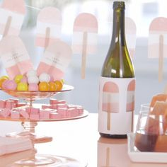 Pops and Bubbles: How to Throw a Champagne Popsicle Party