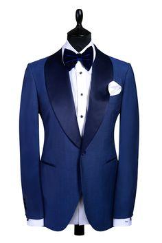 Autographed Styles Royalty Range: Blue Shawl lapel