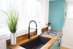 Hickory Counter - Nash by Modern Tiny Living
