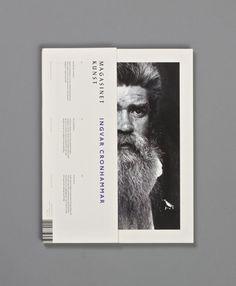 Magasinet Kunst by Henrik Ellersgaard, via Behance