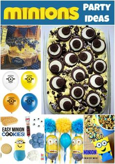 Minions Party Ideas - a creative collection of Minion food, decorations and more!