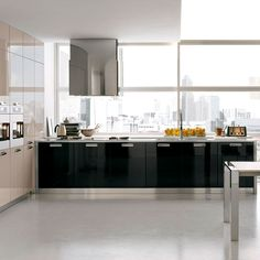 Very Small Kitchen Design Ideas Style Very Small Kitchen Design, Kitchen Dining, Kitchen Decor, Gray And White Kitchen, Ideas Hogar, Kitchen Styling, Kitchen Interior, Home Remodeling, Kitchen Remodel