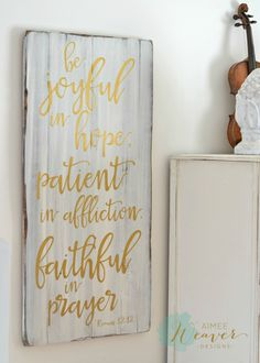 20 x 42 And like a flood His mercy rains, unending love, amazing grace. Unique hand-painted wood sign made from reclaimed barn wood by Aimee Weaver Designs