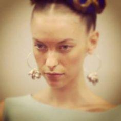 NYFW,  fantastic jewelry by Alexandra Koumba