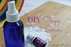 DIY Sleepy Time Serum | Happy Healthnut