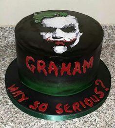 joker face cake - Google Search