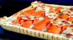 Première version avec des carottes cuites à la vapeur