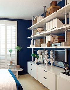 This may be it! My den storage system!!! The Stolmen from Ikea--who would'a thunk it?
