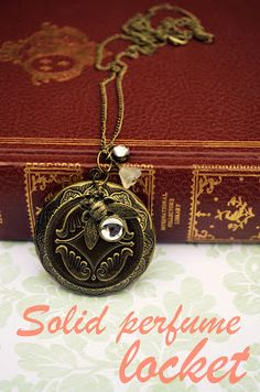 4 DIY Tutorials for Creating Solid Perfume Jewelry