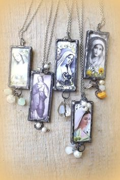 Pendant. Our Lady. Mother of God. Virgin Mary by AcoyaJewellery