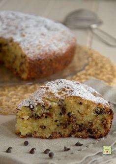 torta stracciatella gp Delicious Deserts, Sweet Cakes, Italian Recipes, Banana Bread, Cheesecake, Food And Drink, Sweets, Chocolate, Breakfast