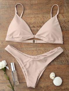 GLANE Brief Hot Newest 2017 Women Bandage Bikini Set Push-up Padded Bra Swimsuit Bathing Suit Swimwear New Beachwear Sexy Top