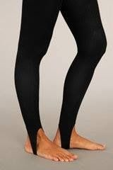 Stirrup pants! Haha
