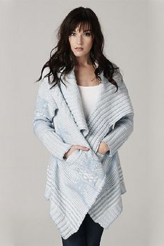 August Sweater in Aspen Blue
