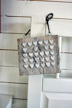 I think the hearts would make a nice accent to a jewelry rack.