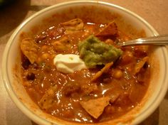 Make and share this Chicken Tortilla Soup II recipe from Food.com.