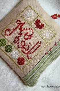 Carolina Stitcher: Finishes..... For me!!!