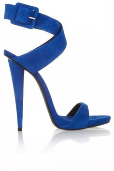 The Millionairess of Pennsylvania: Giuseppe Zanotti ● Royal Blue Suede Sandals Stilettos, High Heels, Pumps, Hot Shoes, Blue Shoes, Shoes Heels, Pretty Shoes, Beautiful Shoes, Beautiful Things