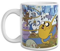 Caneca Hora de Aventura Adventure Time