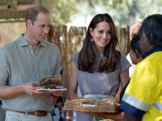 Príncipe William e Kate Middleton em Yulara, na Austrália (Foto: Saeed Khan/ AFP)