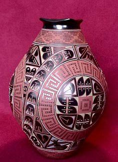 Naty Ortega Fine Mata Ortiz Pottery