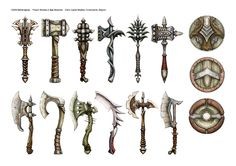 Game: Divinity 2 Ego Draconis by Daniel Igarza for Ravegan Concept Weapons, Armor Concept, Concept Art, Nerd Poker, Quiet Girl, Sword Design, Dragon Knight, Fantasy Setting, Fantasy Weapons