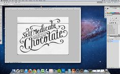 Hand Lettering to Photoshop