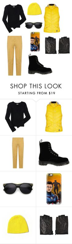 """""""Wolverine Outfit"""" by indigofudge on Polyvore featuring Aéropostale, Barbour, Bottega Veneta, Dr. Martens, Casetify, Club Monaco and Belstaff"""