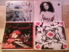 Red Hot Chili Peppers Album Cover Coasters