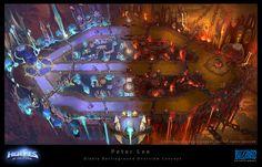 ArtStation - Diablo Battleground Concept, Peter Lee