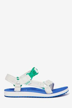 Nasty Gal x Teva Goin' Mobile Mesh Sandals - Throw them on with a t-shirt dress or bikini --then get ready to step out and turn heads #TevaxNastyGal