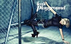 'Lea's Playground' Léa Seydoux by Tae Woo for Vogue Korea May 2013
