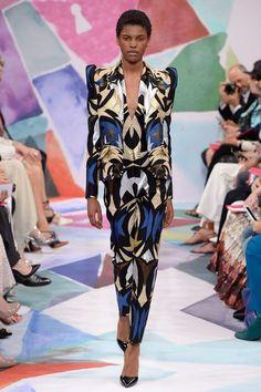 Schiaparelli Fall 2016 Couture Fashion Show - Amilna Estevão (Elite)