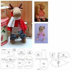 1 million+ Stunning Free Images to Use Anywhere Christmas Sewing, Felt Christmas, Christmas Projects, Christmas Moose, Swedish Christmas, Sewing Stuffed Animals, Stuffed Animal Patterns, Reindeer Craft, Hobbies For Kids