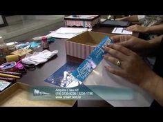 Mulher.com 31/01/2013 Marisa Magalhães - Caixa em madeira decorada Parte 1/2 - YouTube