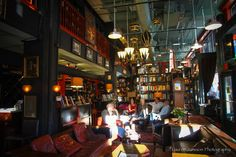 Book Exchange & Champagne Bar, Asheville, NC - The Barn