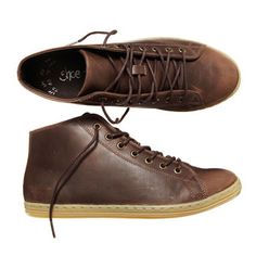 SneakPeak Leather Men's Brown now featured on Fab.