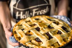 Oh my PIE we have excellent news. You guessed it, we're making pie. Köstliche Desserts, Delicious Desserts, Yummy Food, Easy Baking Recipes, Cooking Recipes, Blackberry Pie Recipes, Grandma Pie, Planning Menu, Pear Pie