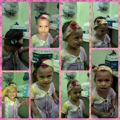 My lil princess with bandana