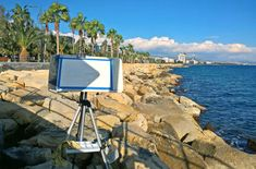 Watercolor easel based of the photo tripod. Plein Air Easel, Flat Screen, Easels, Painting, Art, Blood Plasma, Art Background, Saw Horses, Painting Art
