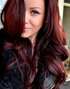 fall hair color style