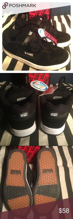 VANS SNEAKERS✨NEW✨ Brand new with tags! The original box is included. Size Men's 6.5. Smokefree home. Tag says: Performance insoles, long lasting cushioning, wicks away moisture, air flow for a cool foot & odor inhibiting shoes. See pics and ask any questions. I have a pair and love them! Sweet kicks!😎 Vans Shoes Sneakers