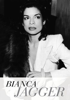 Sensible living with style: *GET HER LOOK* Bianca Jagger