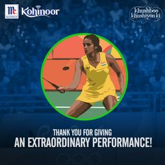 Congratulations #PVSindhu! The Indian daughter has smashed her way in the game. We are extremely proud of you! #KohinoorWomenAchievers.