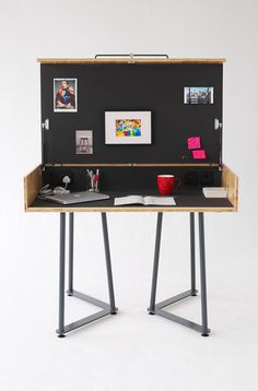 I have a feeling this is out of my price range but one can dream. Dream desk : Suitcase Desk | TILT Products