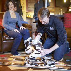 Black-Tie Ski Rental - In-Room Fitting