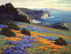 John Gamble (1863-1957) Goleta point